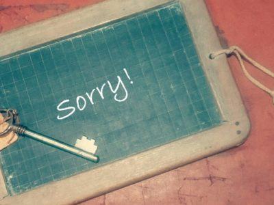 仕事のミスを謝罪